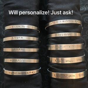 Jewelry - Mantra Band Bracelets